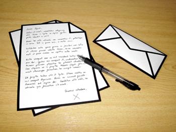 La carta de invitación para la visa de visitante -