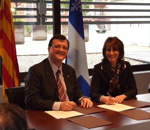 Acord Quebec-Catalunya -