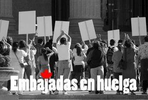 Embajadas canadienses en huelga -