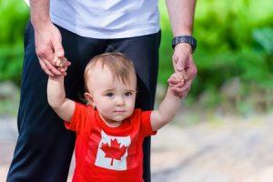 El nacimiento de un hijo en el proceso de inmigración -