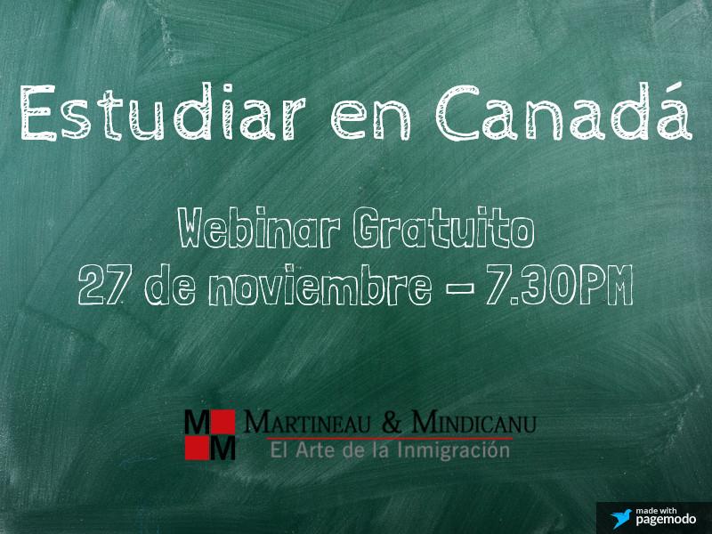 Estudiar en Canada