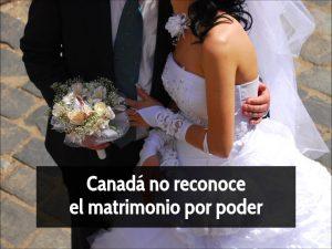 Matrimonio poder