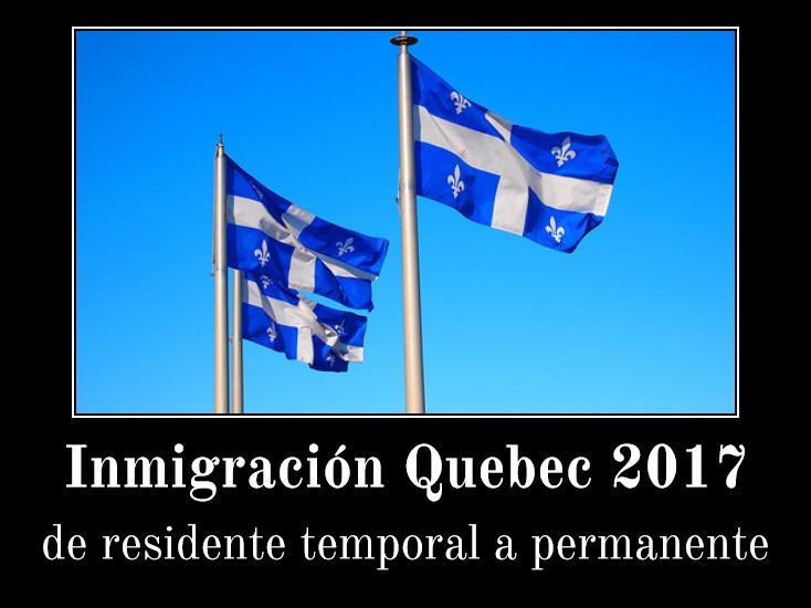 Quebec: de residente temporal a permanente -