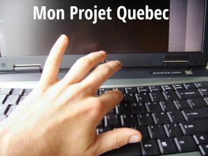 Posibilidad de actualizar la solicitud Mon Projet Québec -