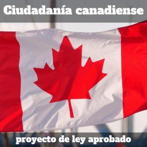 Ciudadanía canadiense: nueva ley -
