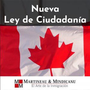 Nueva Ley de Ciudadanía -