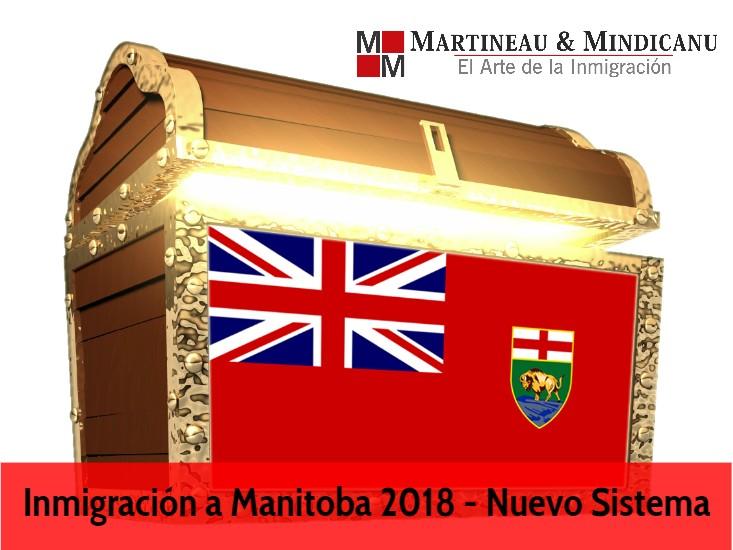 Inmigración a Manitoba 2018 -