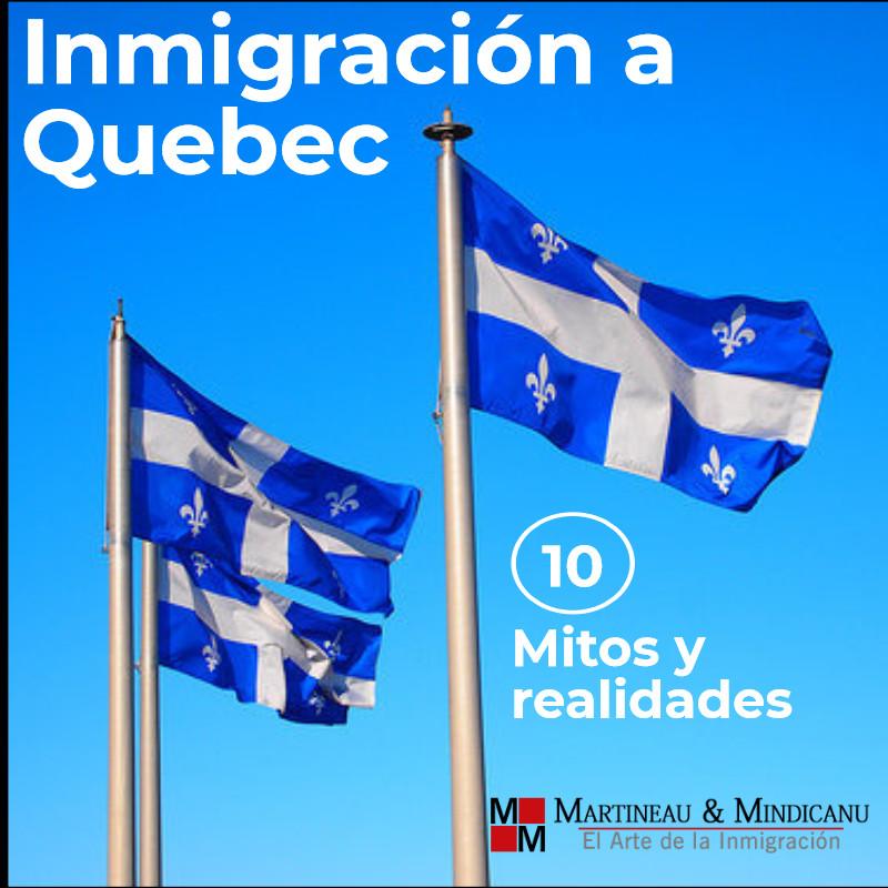 Inmigración a Quebec - Mitos y realidades -