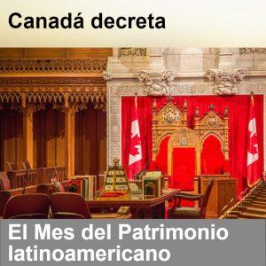 Octubre, mes de América Latina en Canadá -