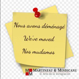 Martineau & Mindicanu cambia de dirección -
