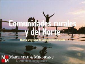 Programa de las comunidades rurales y del norte -