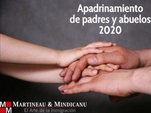 Apadrinamiento de padres y abuelos 2020 -
